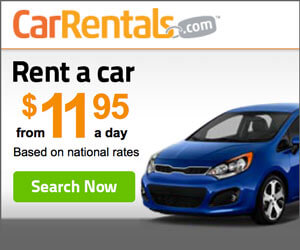 Rental Cars from $7.20 per Day