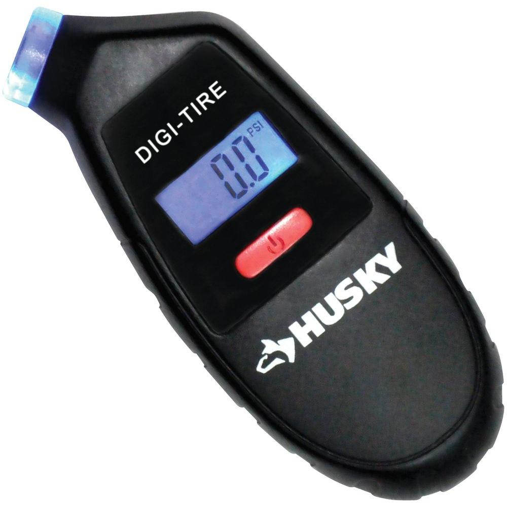 Husky 4 in. Digital Tire with Gauge