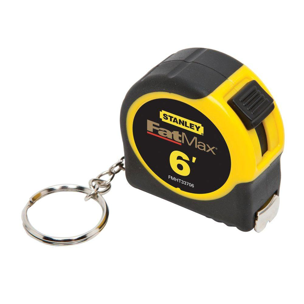 Stanley 6 ft. Tape Rule Key Chain