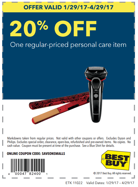 Printable: 20% off One Regular-Priced Personal Care Item