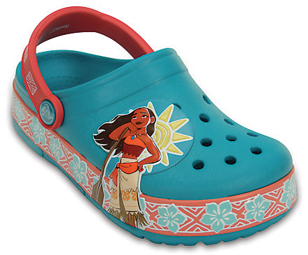44% off Kid's Crocslights Disney Moana Clog + Free Shipping