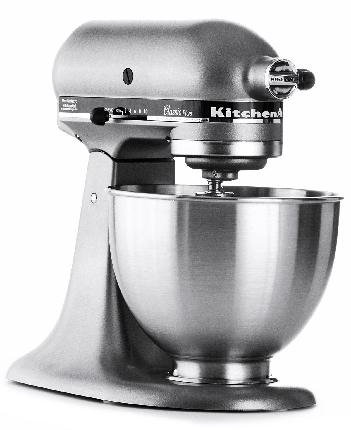 39% off KitchenAid KSM75SL 4.5 Qt. Classic Plus Stand Mixer