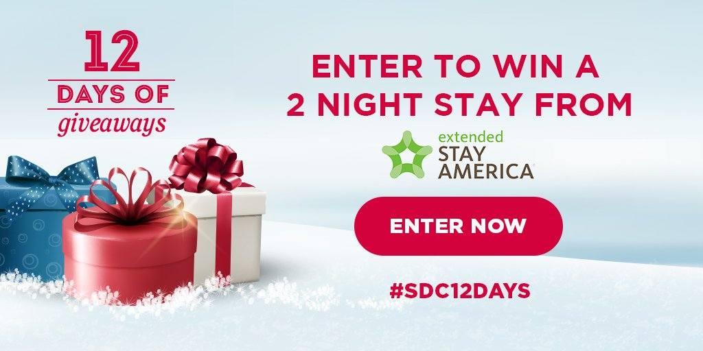Win a two night stay from Extended Stay America!