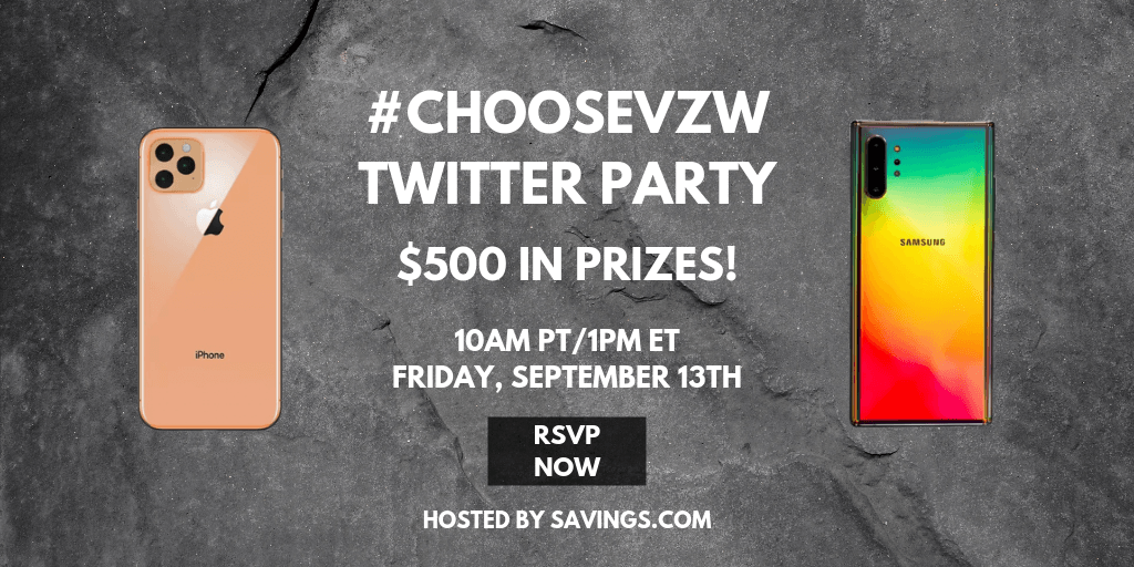 Join the Verizon Wireless Twitter Party!