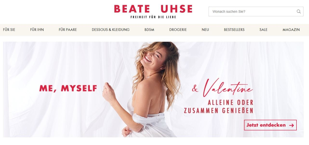 Beate Uhse Onlineshop