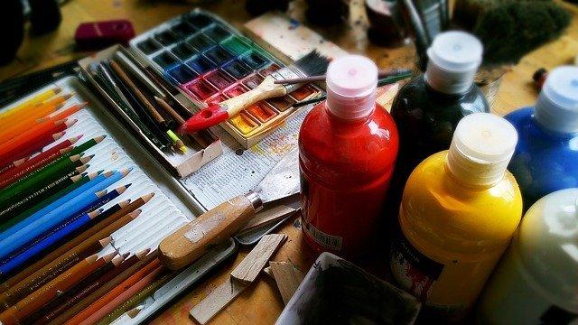 Palette et tubes de peintures moins chers avec le Black Friday