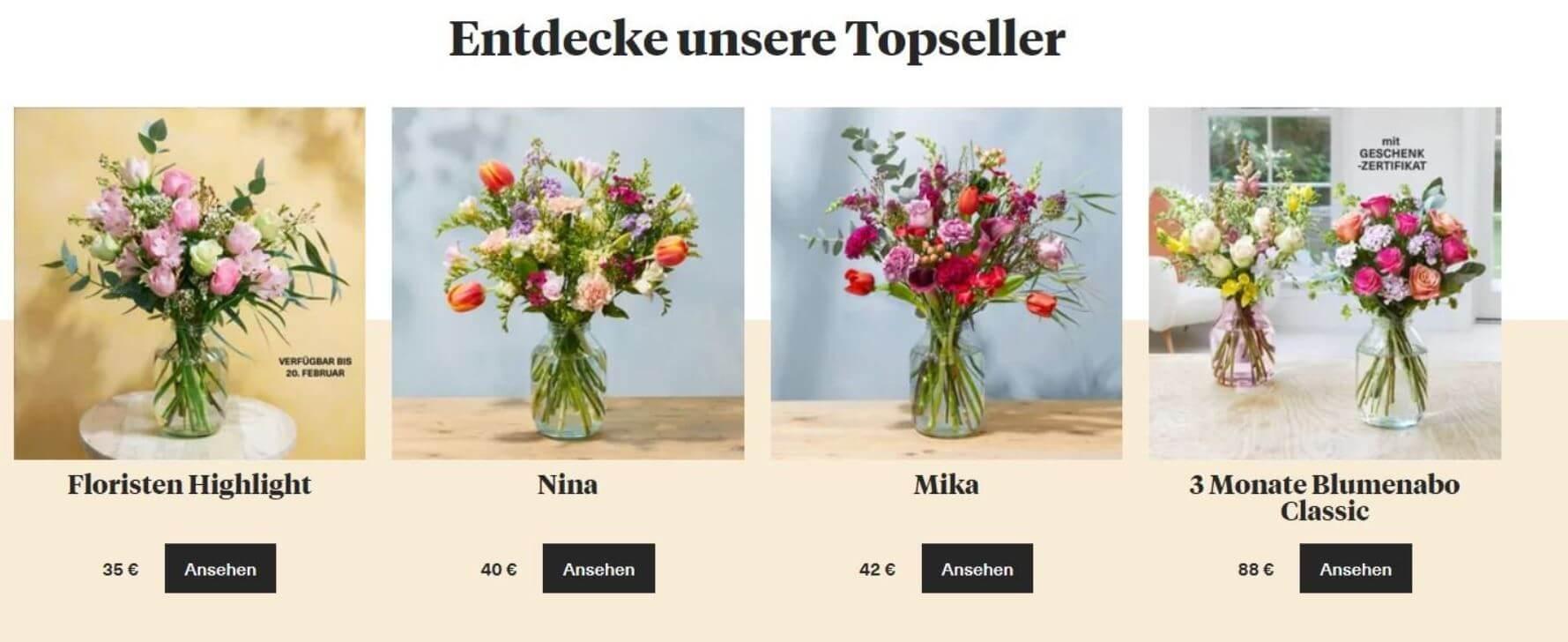Bloom & Wild Topseller Muttertag