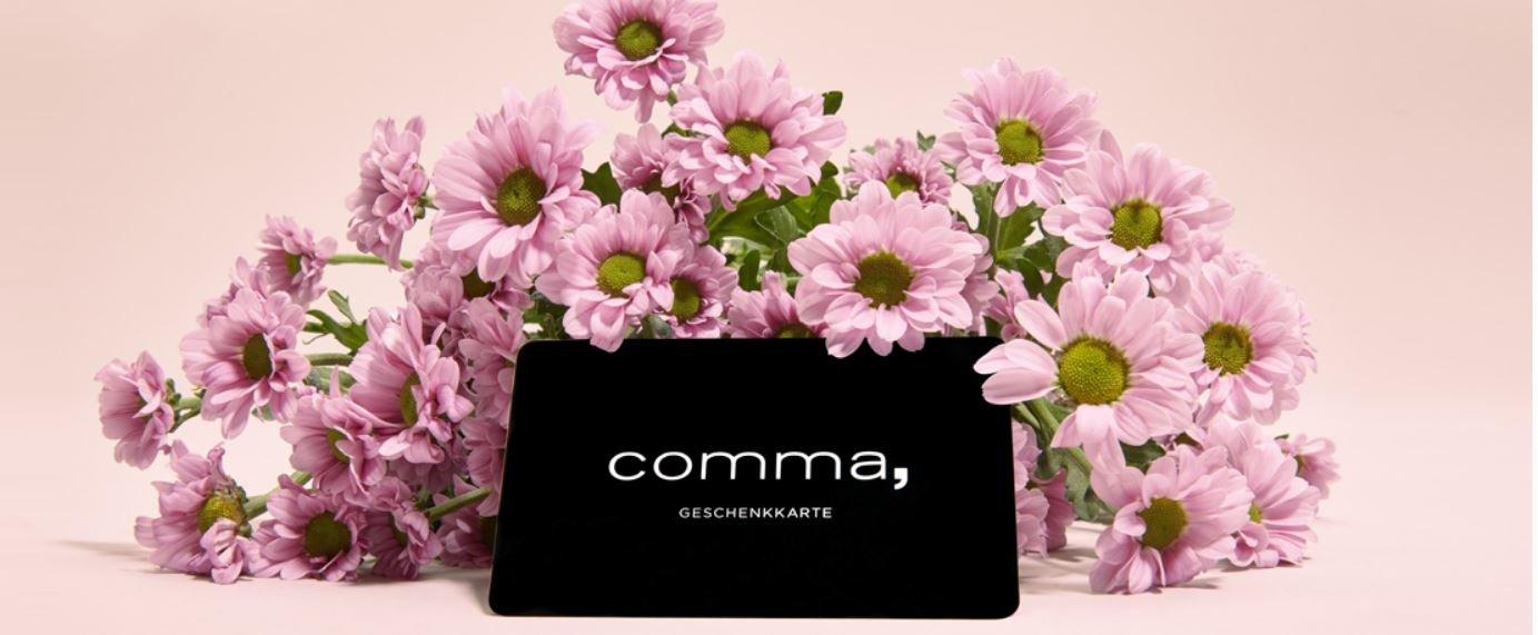 Comma-Geschenkkarte