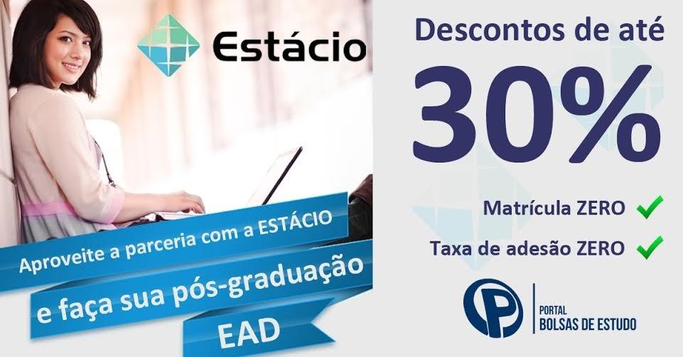ed090d079 Cupom de Desconto Estácio - Até 75% OFF Cupom - 2019