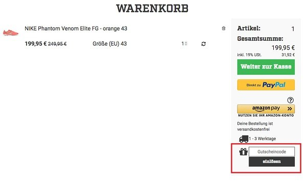 descuento mejor valorado elegir despacho marca popular Nike Gutschein Februar 2020 | 20% Aktionscode & 70€ Rabatt