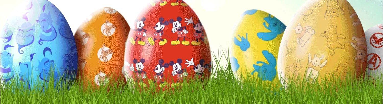 Eiersuche bei Disney zu Ostern