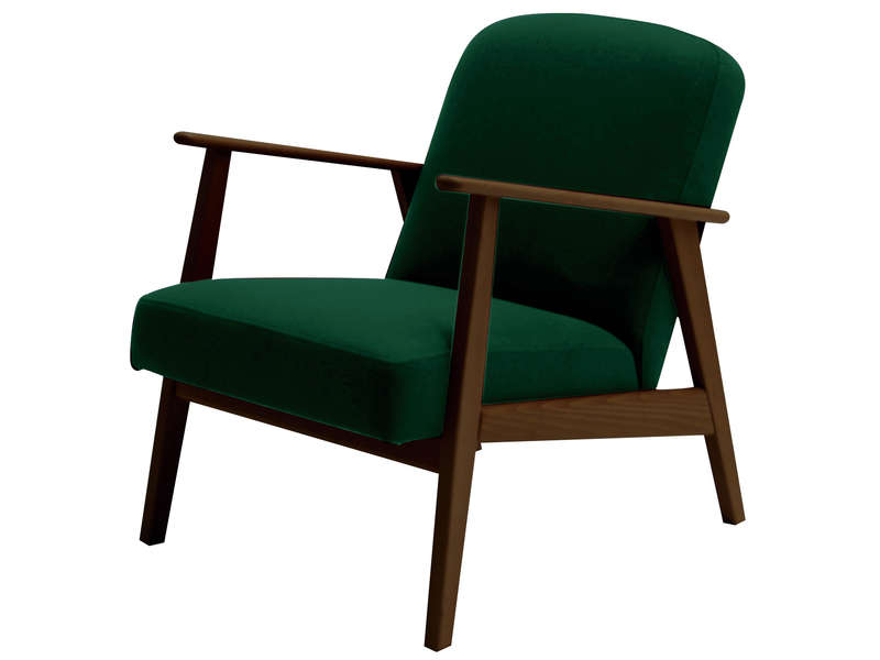 Fauteuil vert Conforama