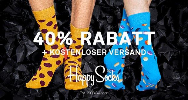 Happy Socks Angebote 40 Prozent am Black Friday