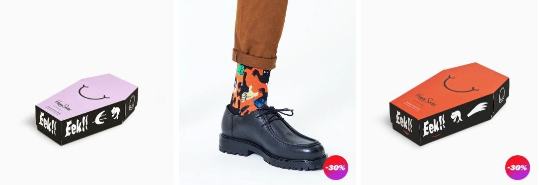 Happy Socks Halloween Angebot
