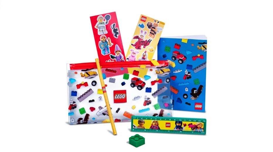 LEgo Gratis Paket zum Schulanfang