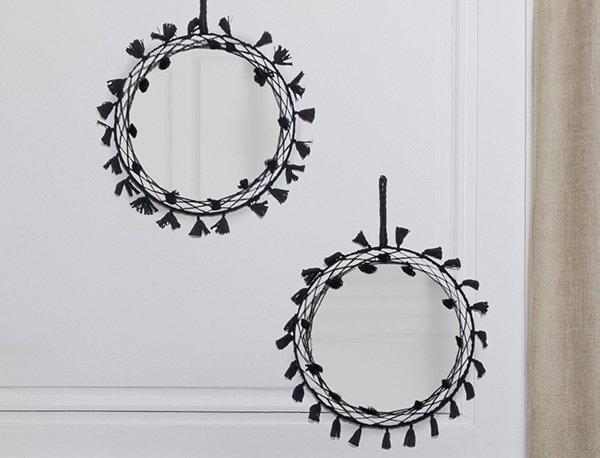 Miroir tissé Linvosges