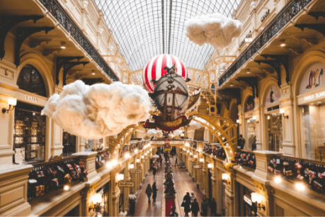 Moscow shopping centre
