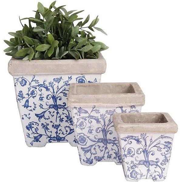 Pots de fleur en céramique Camif