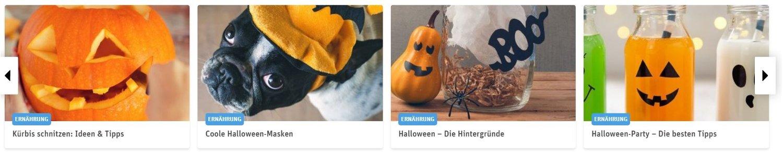 Rewe Halloween-Rezepte