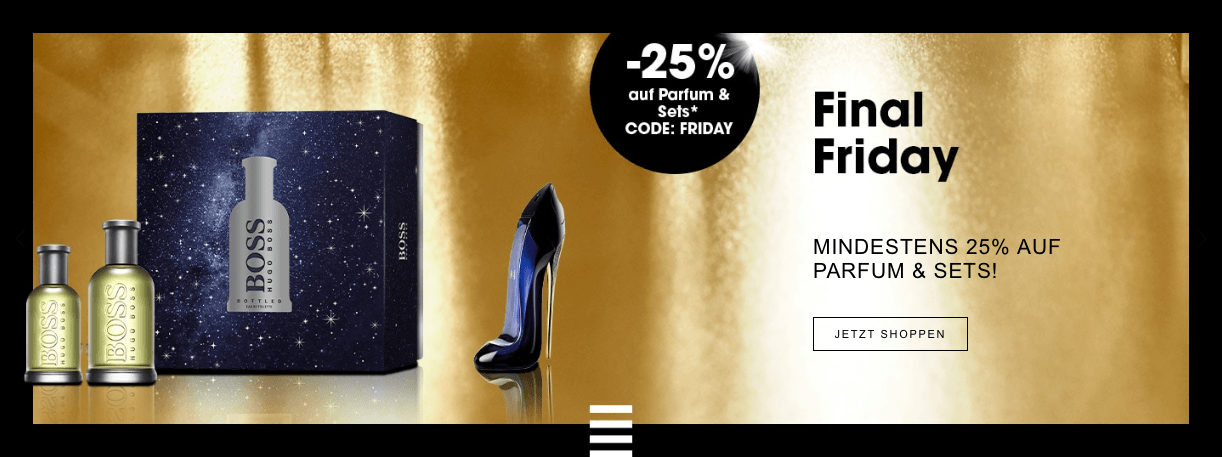 Sephora Black Friday Angebote Parfum Sets