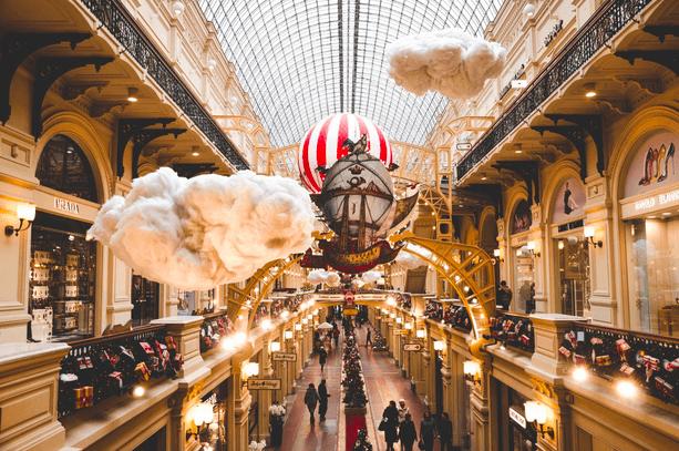 Shopping Center in Moskau