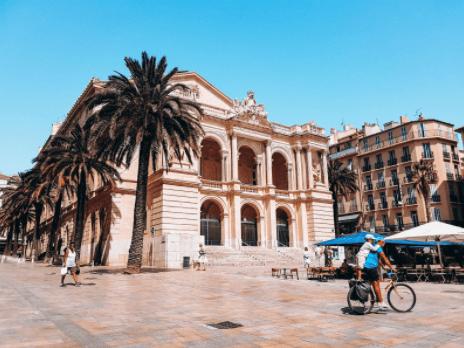 Toulon city square