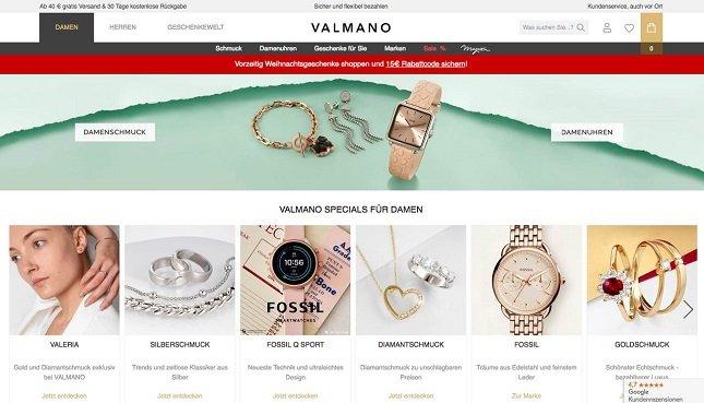 Valmano Rabattcode