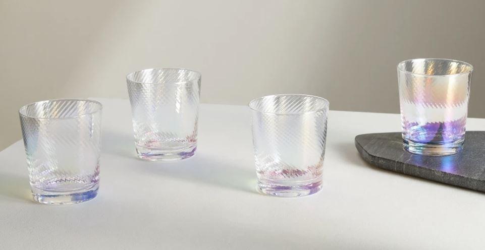 Verres iridescents Made.com