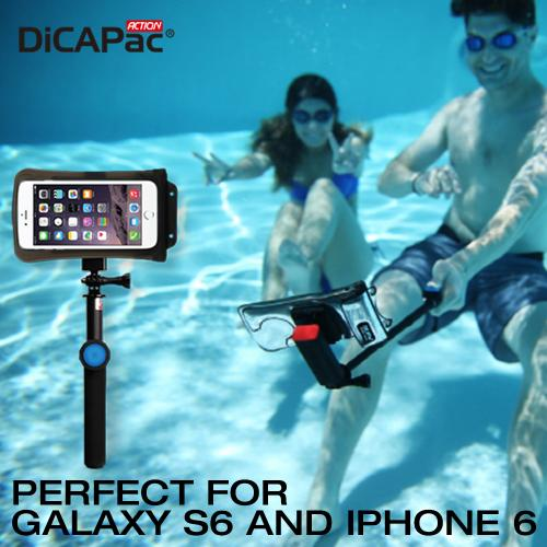 $20 off DiCAPac Action Waterproof Selfie Bundle for Devices Up to 5.1 inches - Perfect for Galaxy S6 and iPhone 6/ SE