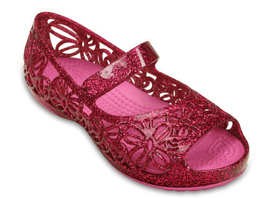 43% off Crocs Isabella Glitter Flat