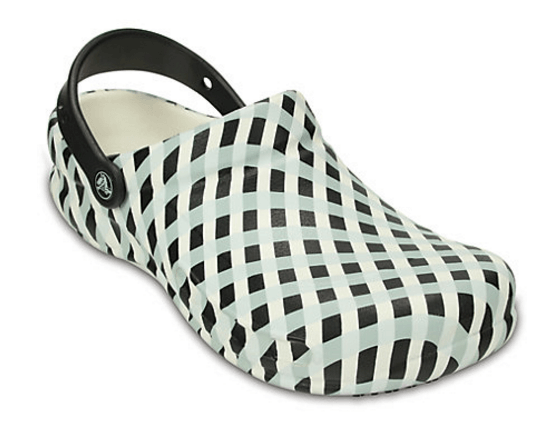 40% off Bistro Gingham Clog + Free Shipping
