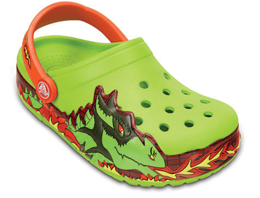 38% off Kid's CrocsLights Fire Dragon Clog + Free Shipping
