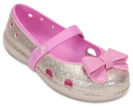38% off Girls' Keeley Hi-Glitter Bow Flat