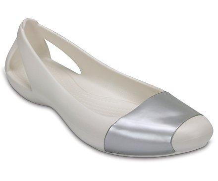 50% off Women's Crocs Sienna Shiny Flat