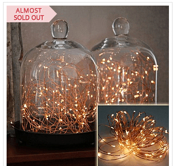77% Off Wireless 9 Foot Waterproof Micro LED String Lights with Timer