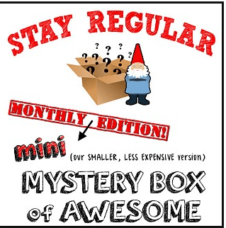 Buy New (Mini) Monthly Mystery Box of Awesome at $9.99