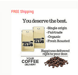 11% Off Roasters Choice - Coffee of the Month Club Plus Free Shipping