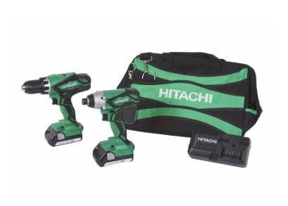 14% Off Hitachi 2-Tool Cordless Combo Kit Plus Free Shipping