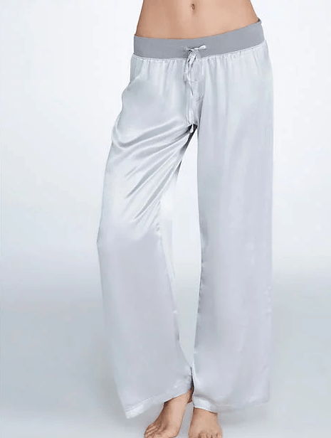 Get PJ Harlow Jolie Satin Lounge Pants for $66