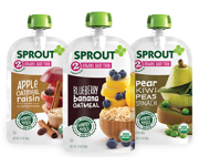 SPROUT® Organic Baby or Toddler Food Pouches