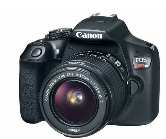Refurbished EOS Rebel T6 18-55mm IS for $299.99 Plus Free Shipping