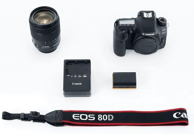 Refurbished EOS 80D EF-S 18-135mm f/3.5-5.6 IS USM Lens Kit for $969.20