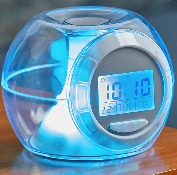 Color Changing Alarm Clock with Nature Sounds for $7.98