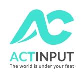Actinput