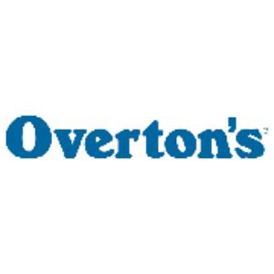 Overton's Logo